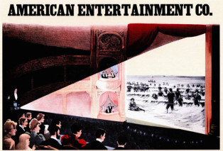 Poster by American Entertainment Co., Courtesy of The Cinema Museum, London