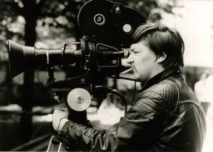 Rainer Werner Fassbinder Filming Merchant of Four Seasons 1971. Copyright Rainer Werner Fassbinder Foundation