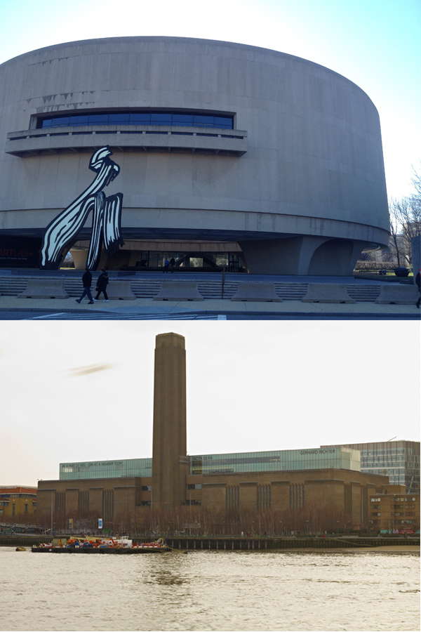 Hirshhorn, Tate Modern
